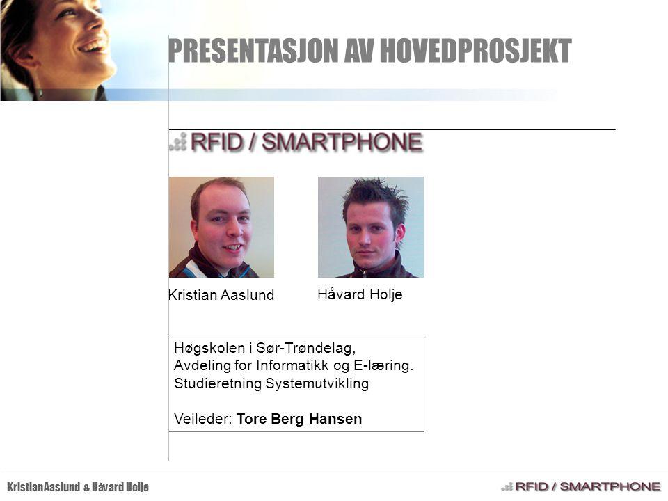 AGENDA Kristian Aaslund & Håvard Holje 1.Bakgrunn / problemstilling 2.