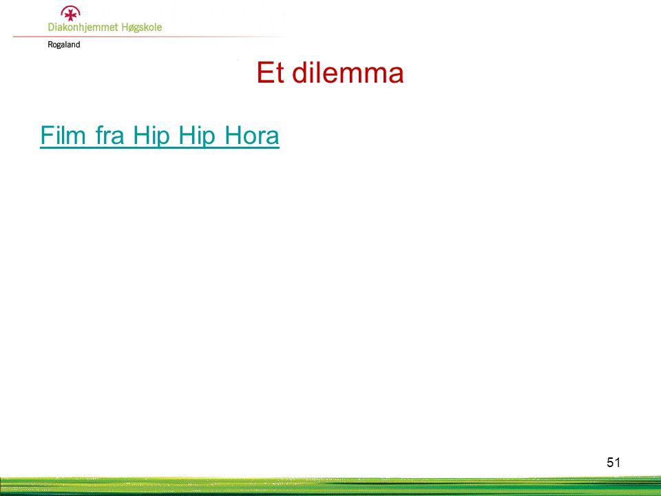 Et dilemma Film fra Hip Hip Hora 51