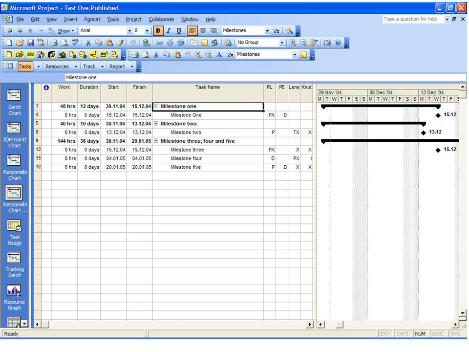 2004.012.02Møte i Microsoft Project User Group Slide 17