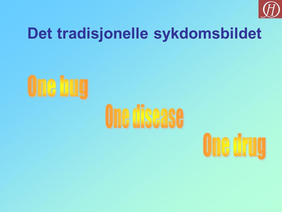 Det tradisjonelle sykdomsbildet