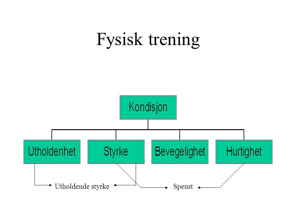 Strukturering av utholdenhet