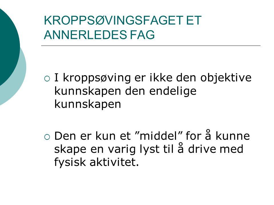 HVA BLIR SÅ VIKTIG.