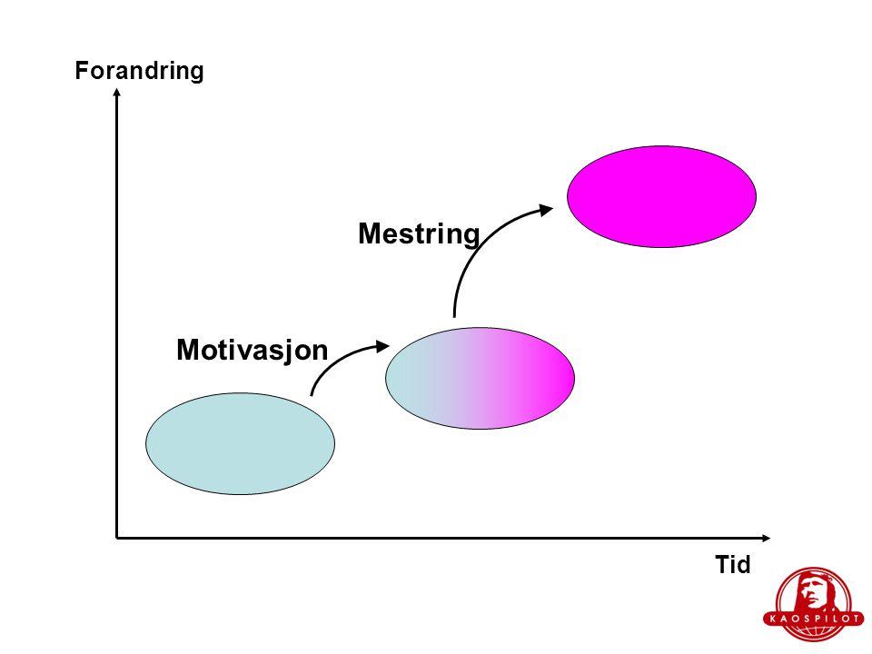 Motivasjon  Kognitive utfordringer: –Anerkjennelse i form av at input, ideer, tanker, mm blir etterspurt, vurdert, tatt vare på,..