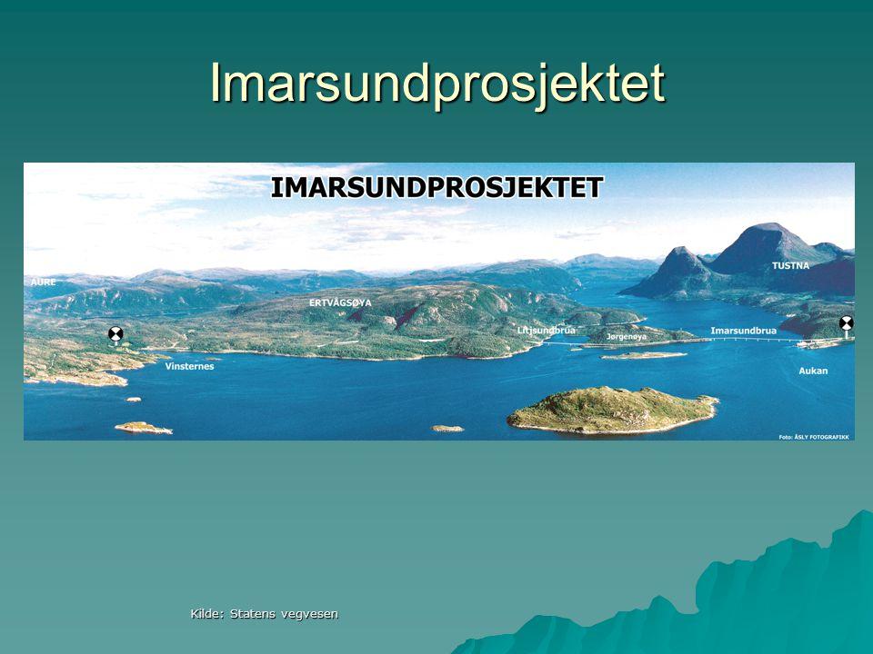 Imarsundprosjektet Kilde: Statens vegvesen
