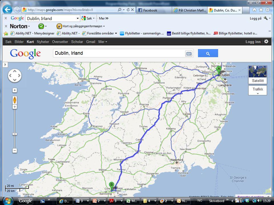 Kortur Irland 2012 • Torsdag 28.