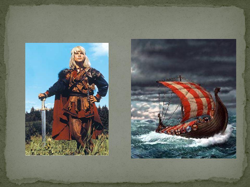  Startet på slutten av 700-t.Vikingene dro til England, Irland og Skottland.