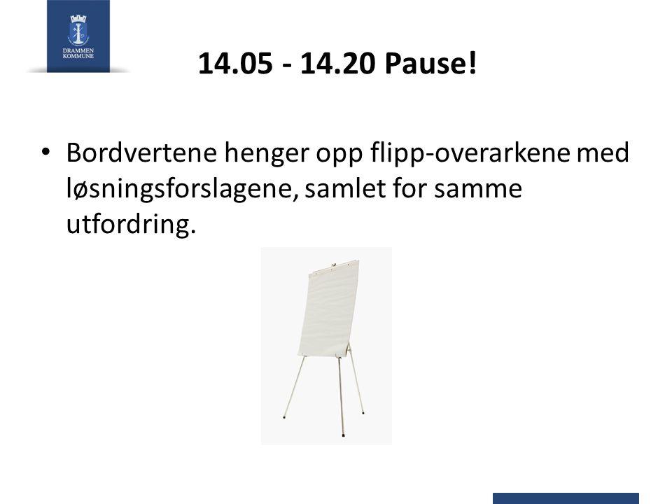 14.05 - 14.20 Pause.