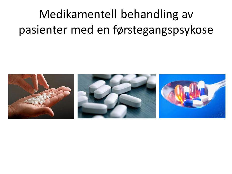 Medikamentell behandling av pasienter med en førstegangspsykose