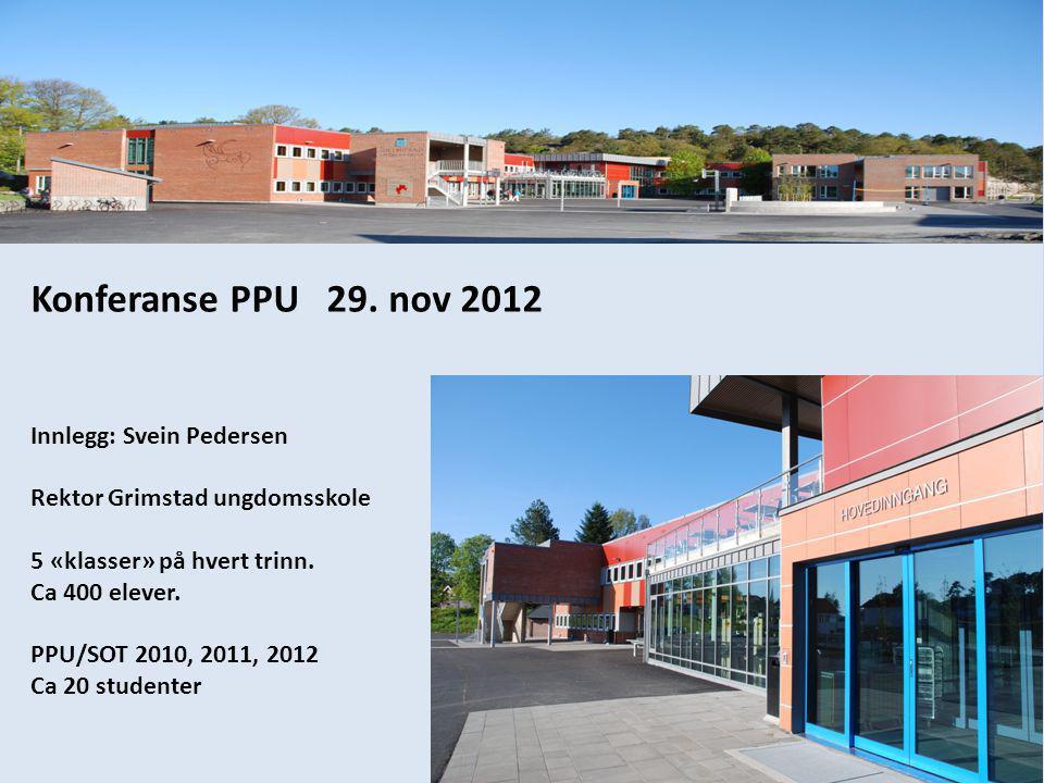 Konferanse PPU 29.
