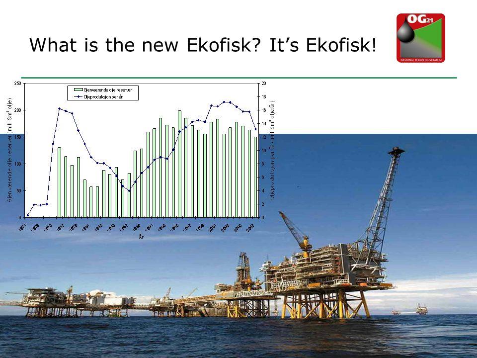 What is the new Ekofisk? It's Ekofisk!