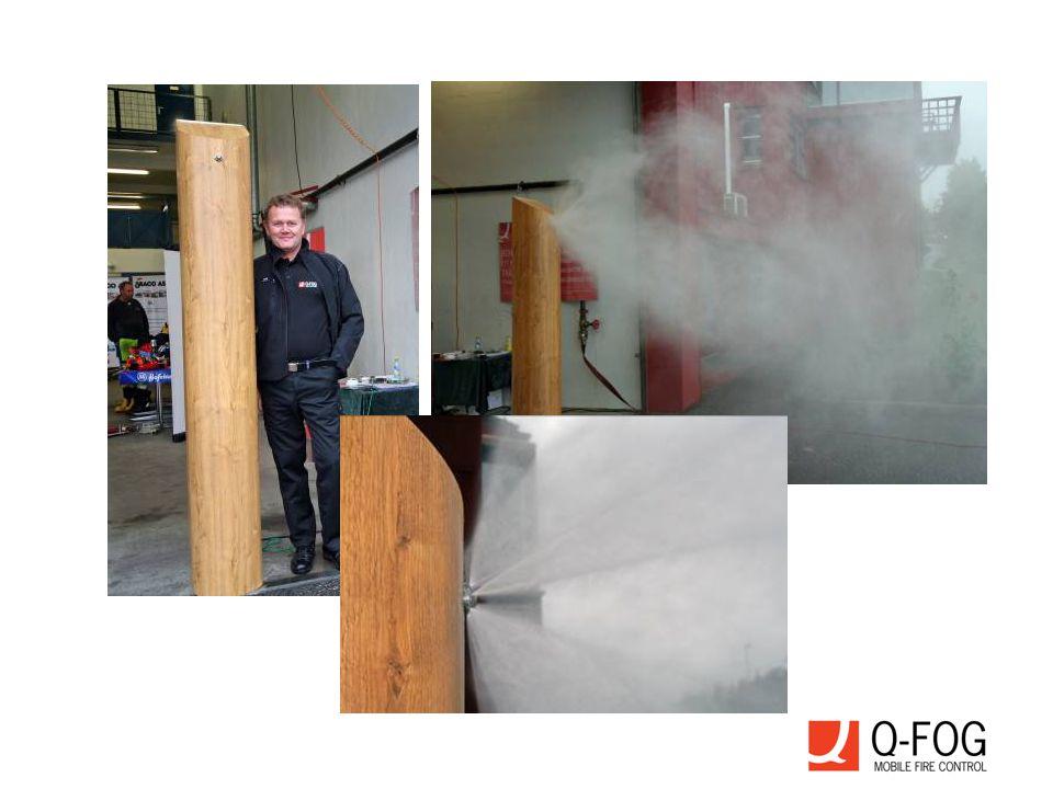  Enkelt å installere og flytte. Meget effektiv brann beskyttelse.