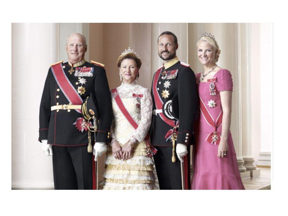 • Kong Haakon døde i 1957, og sønnen ble da kong Olav 5.