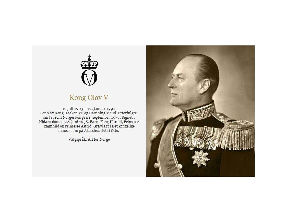• Kronprins Olav var den første norske tronarvingen siden middelalderen som vokste opp i Norge.