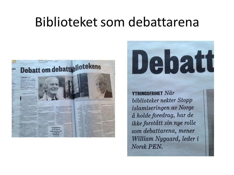 Biblioteket som debattarena