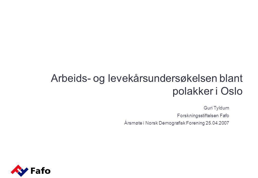  Pilotstudie for å teste ut respondentdrevet utvalgstrekking på en voksen migrantbefolkning i Norge  Datainnsamling finansiert av forskningsrådet og Arbeids- og Inkluderingsdepartementet (flere andre aktører har skutt inn midler til analyse).