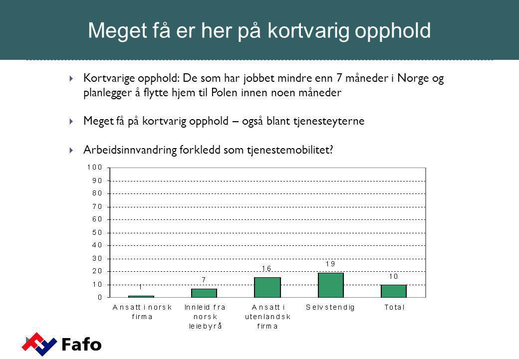 Dersom vi hadde tjent like mye som nordmenn ville vi trives mye bedre i Norge.