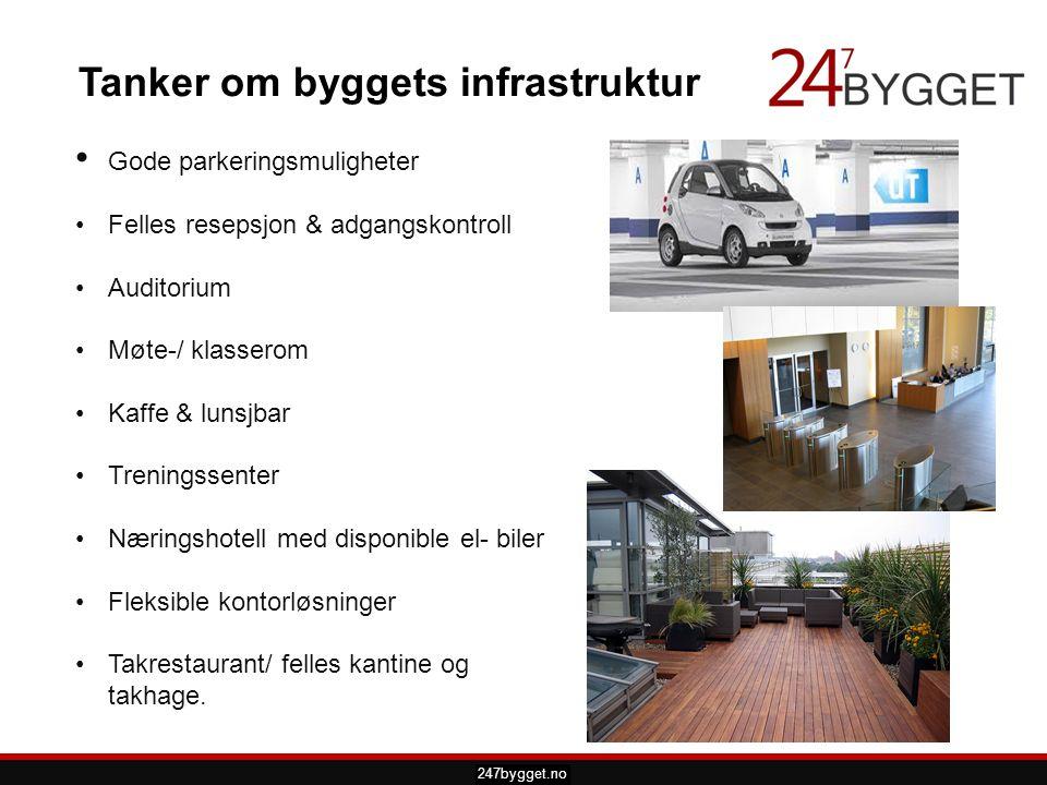 pdsprotek.no Tanker om byggets infrastruktur • Gode parkeringsmuligheter •Felles resepsjon & adgangskontroll •Auditorium •Møte-/ klasserom •Kaffe & lu