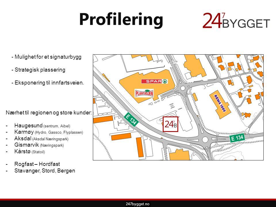 pdsprotek.no - Mulighet for et signaturbygg - Strategisk plassering - Eksponering til innfartsveien. Profilering 247bygget.no Nærhet til regionen og s