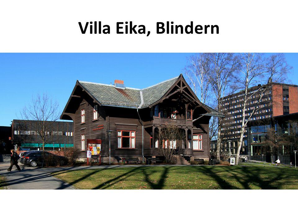 Villa Eika, Blindern