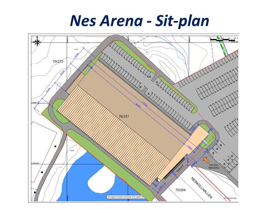 Nes Arena - Sit-plan