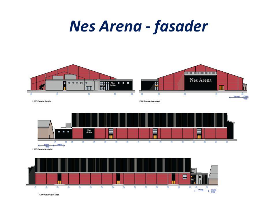Nes Arena - Plan 1.etasje