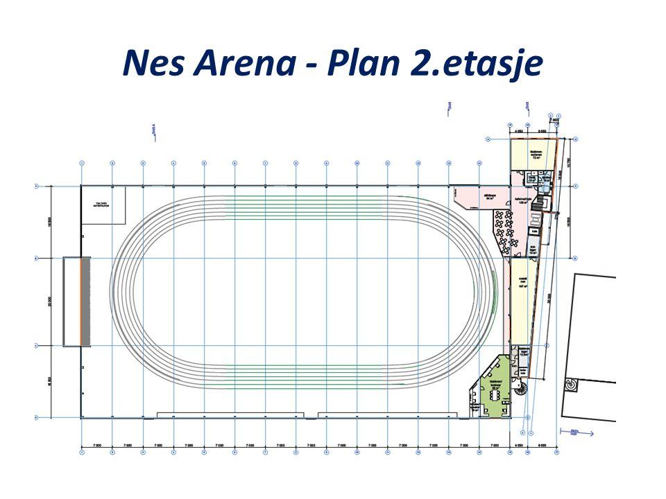 Nes Arena - Plan 2.etasje