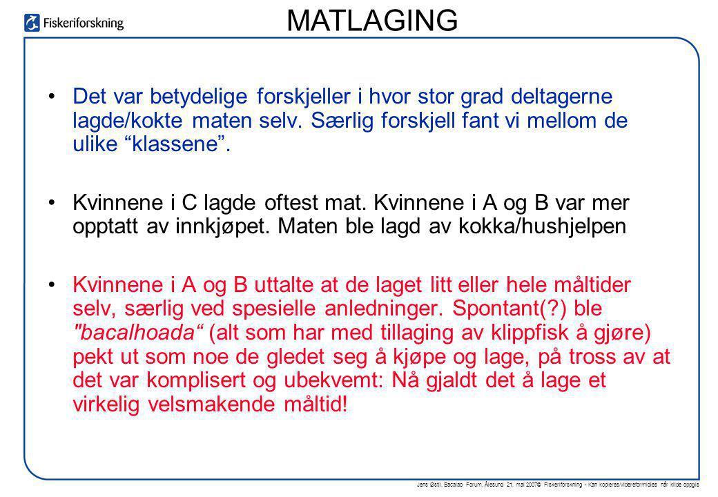 Jens Østli, Bacalao Forum, Ålesund 21. mai 2007© Fiskeriforskning - Kan kopieres/videreformidles når kilde oppgis •Det var betydelige forskjeller i hv