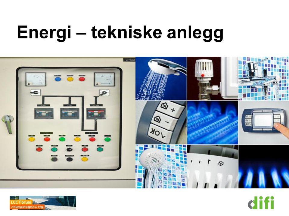 Energi – tekniske anlegg