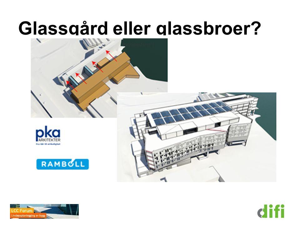 Glassgård eller glassbroer?