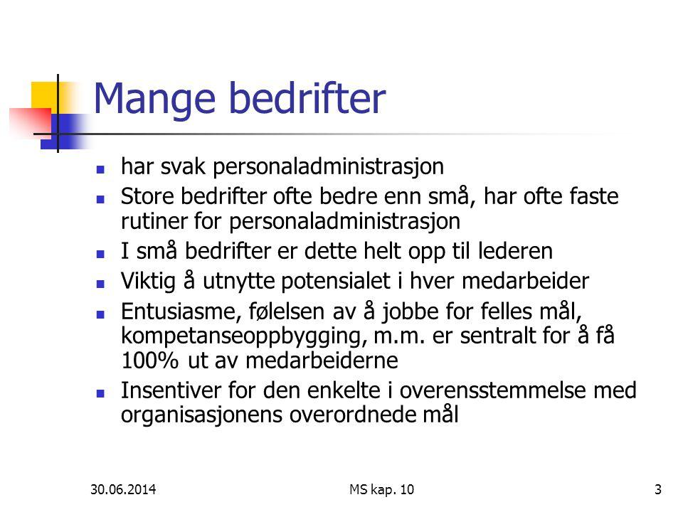 30.06.2014 MS kap.1034 IT investeringer.