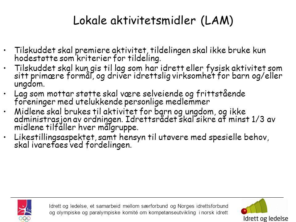 Idrett og ledelse, et samarbeid mellom særforbund og Norges idrettsforbund og olympiske og paralympiske komité om kompetanseutvikling i norsk idrett L