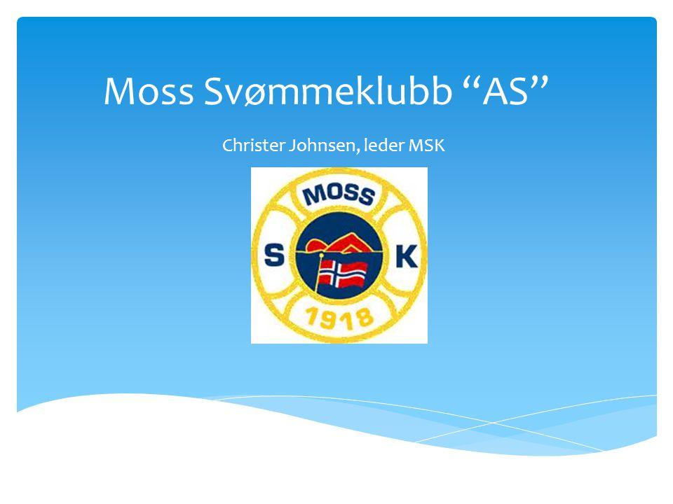 """Moss Svømmeklubb """"AS"""" Christer Johnsen, leder MSK"""