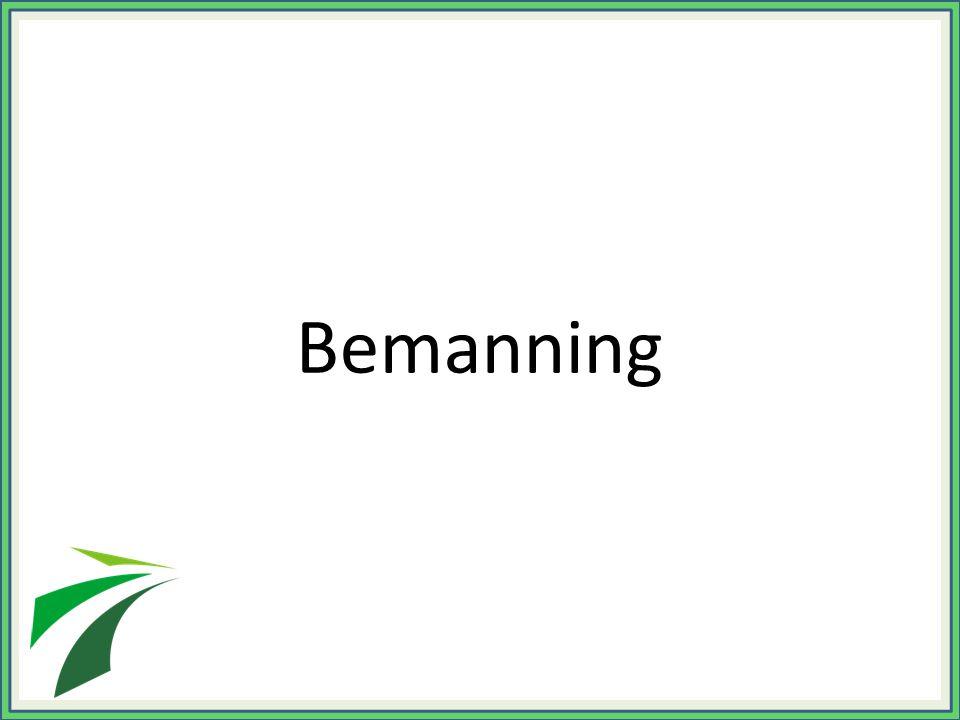 Bemanning