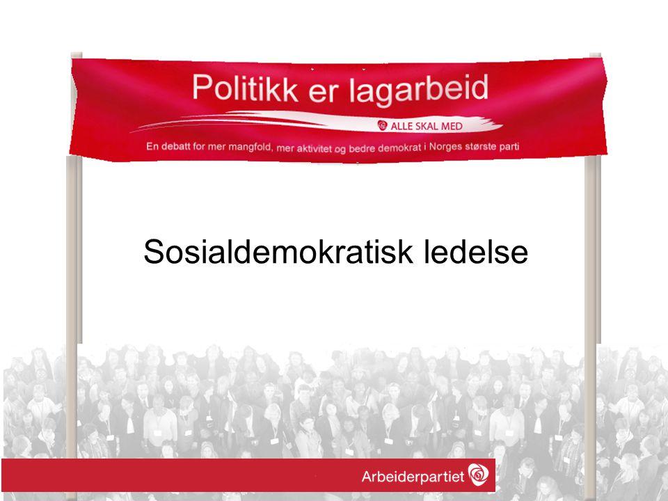 Sosialdemokratisk ledelse