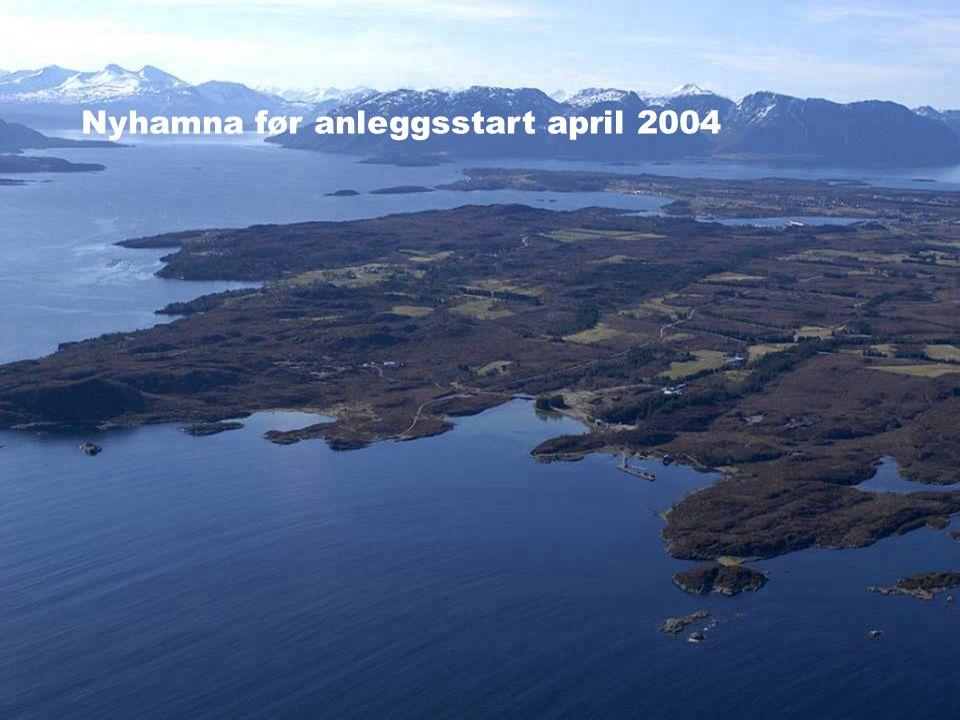 Date: 2004-01-23 • Page: 3 • Hydro Oil & Energy Ormen Lange Nyhamna før anleggsstart april 2004