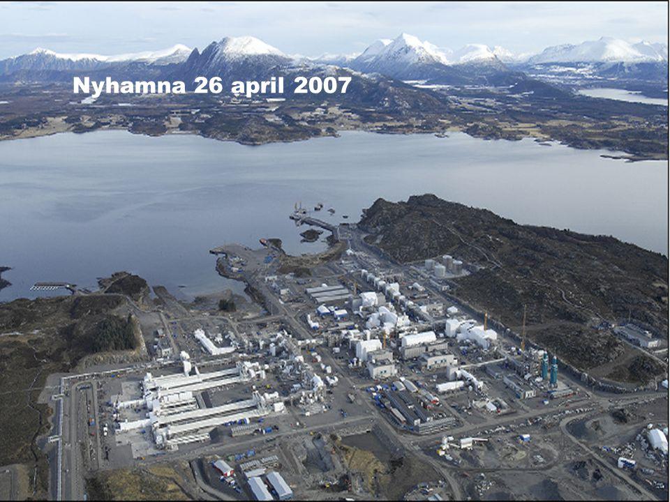 Hydro Olje & Energi Operatør for utbyggingsfasen Nyhamna 26 april 2007