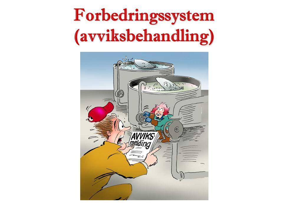 Forbedringssystem (avviksbehandling)