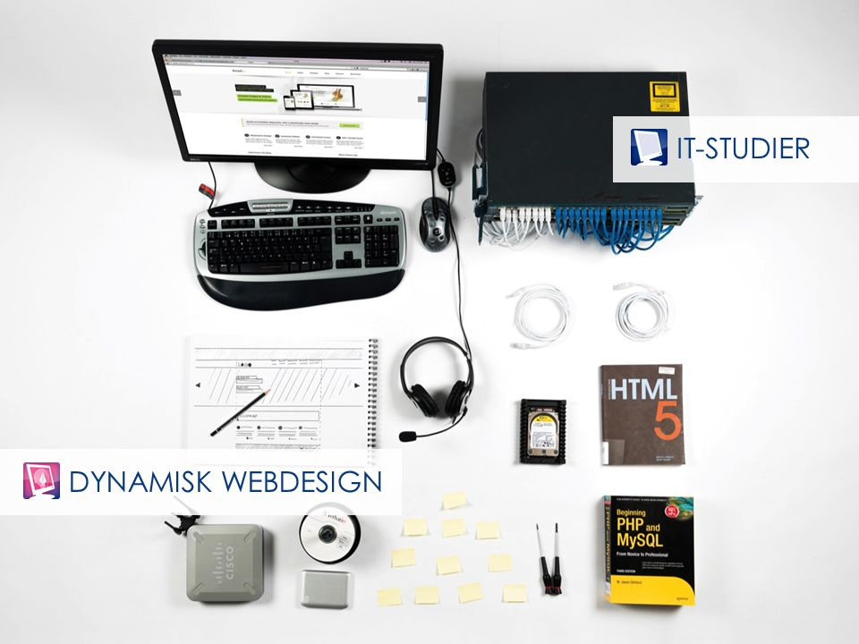 DYNAMISK WEBDESIGN IT-STUDIER