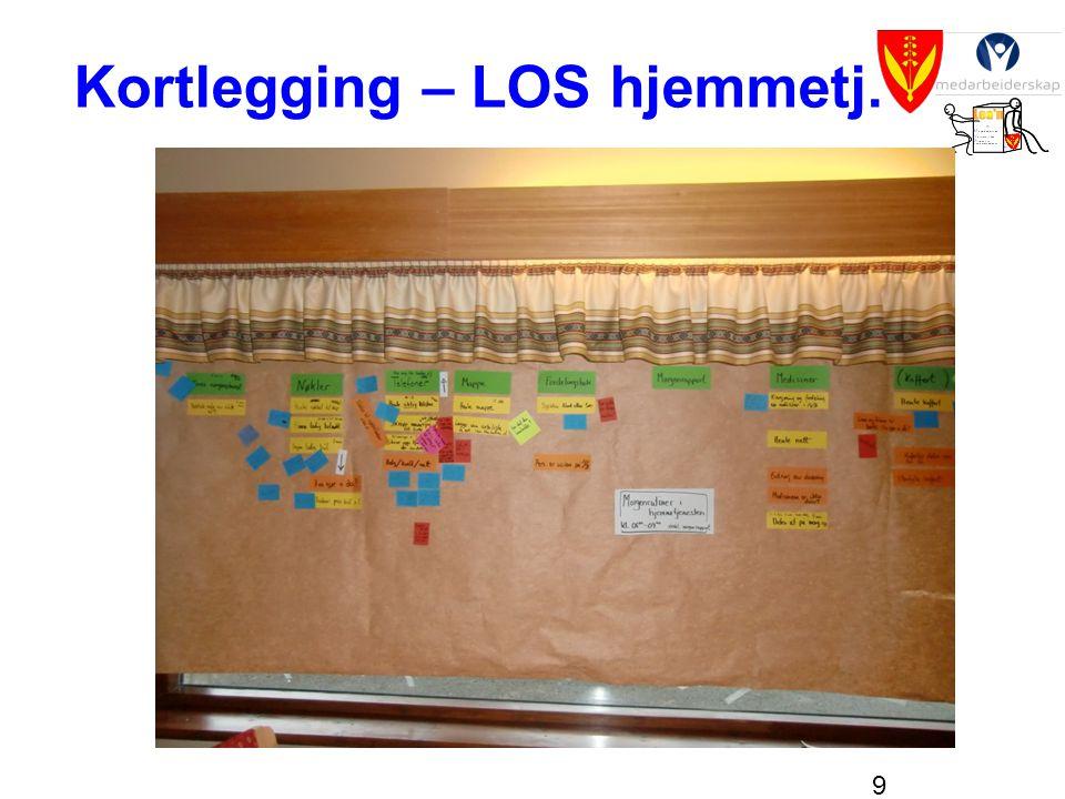 9 Kortlegging – LOS hjemmetj.