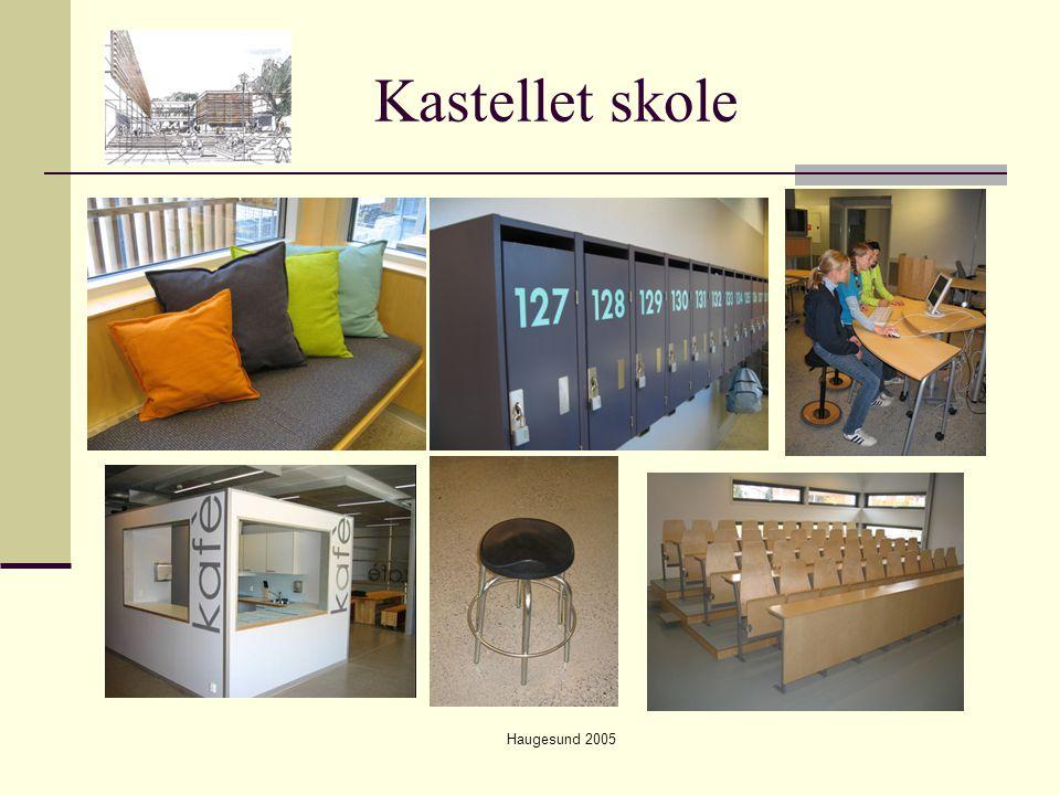 Haugesund 2005 Er nytenkende pedagogikk avhengig av skolebygg.