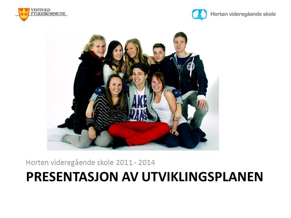 PRESENTASJON AV UTVIKLINGSPLANEN Horten videregående skole 2011 - 2014