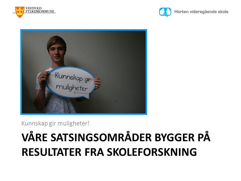Dansk Clearinghouse for Utdannelsesforskning 2010 Resultatene forbedres i skoler der: • Ledere er tilgjengelige for lærerne og er opptatt av deres utvikling.