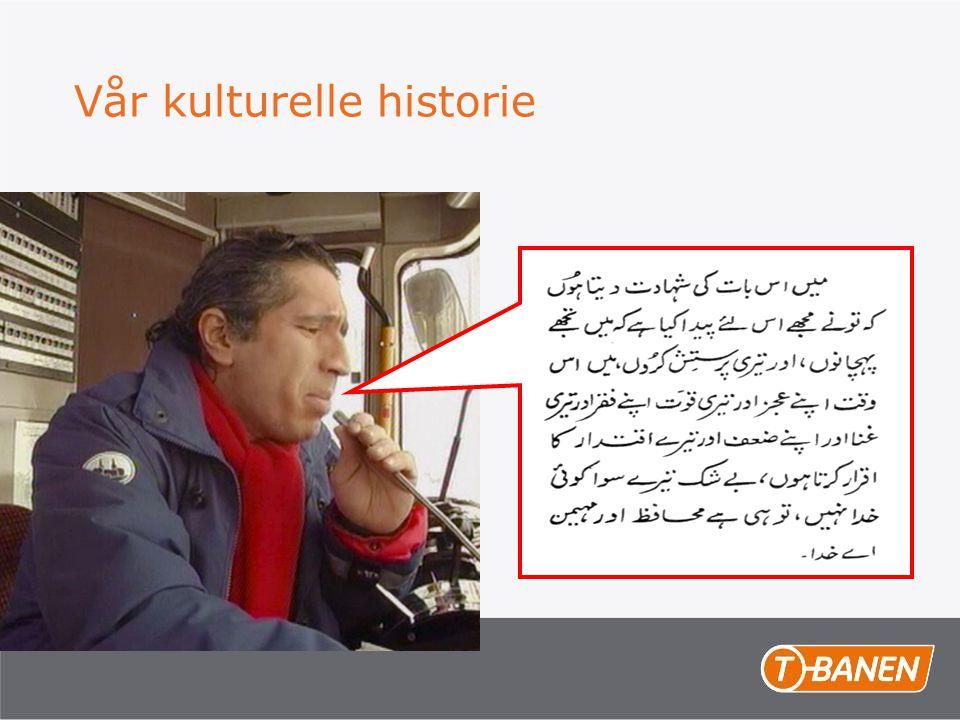 Vår kulturelle historie