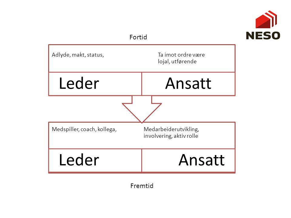 Hva er ledelse? • Klassen kommer med forslag, noter på flipp