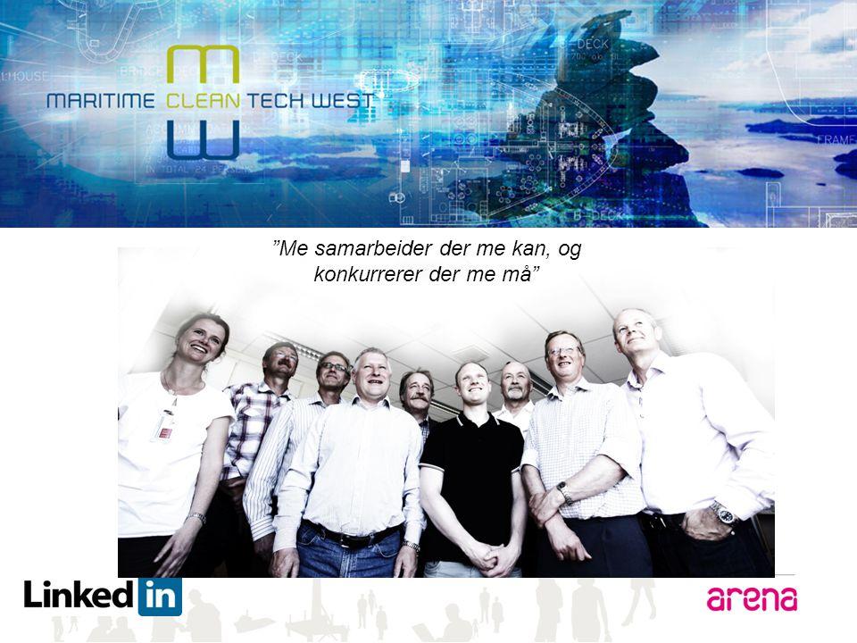 "www.maritimecleantech.no ""Me samarbeider der me kan, og konkurrerer der me må"""
