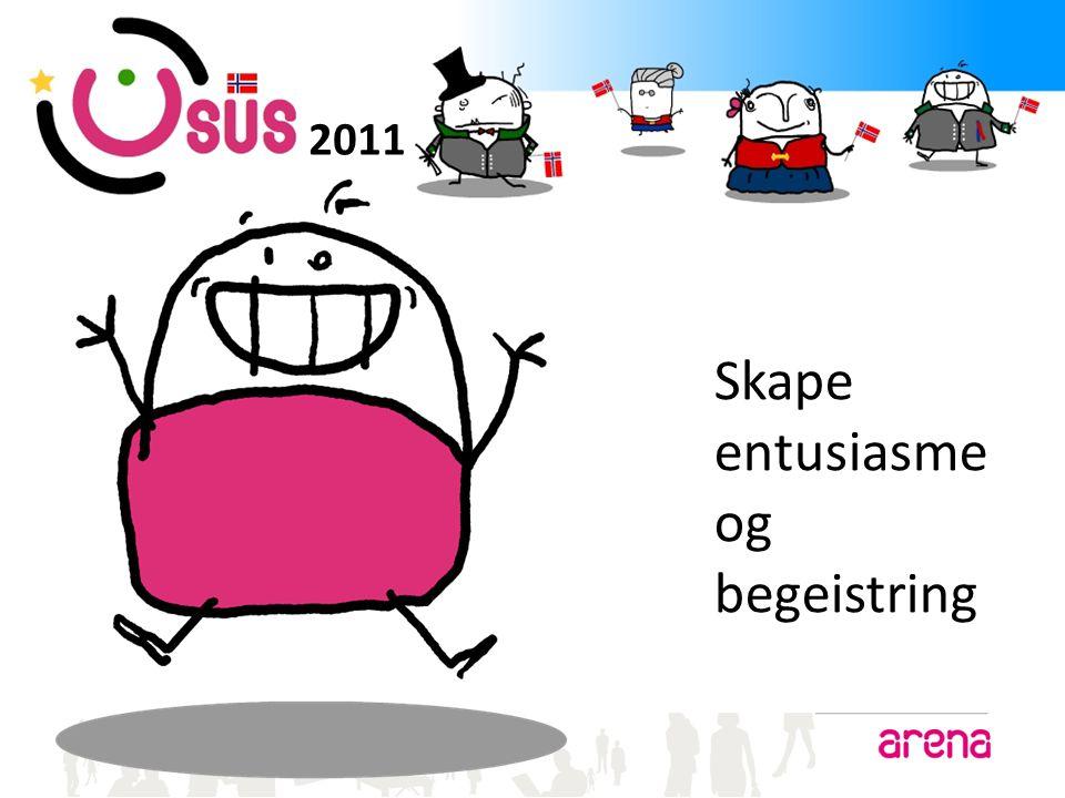 2011 Skape entusiasme og begeistring