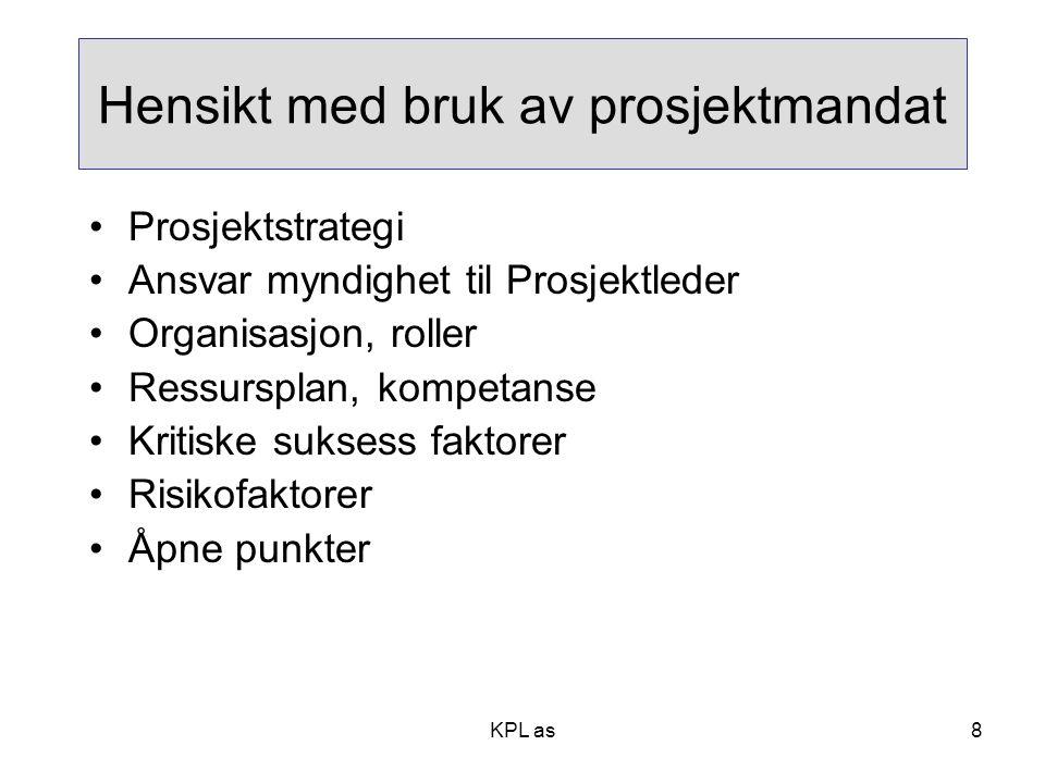 Prosjekt org.