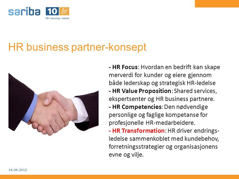 HR business partner-konsept - HR Focus: Hvordan en bedrift kan skape merverdi for kunder og eiere gjennom både lederskap og strategisk HR-ledelse - HR