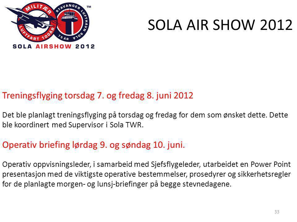 SOLA AIR SHOW 2012 33 Treningsflyging torsdag 7. og fredag 8.