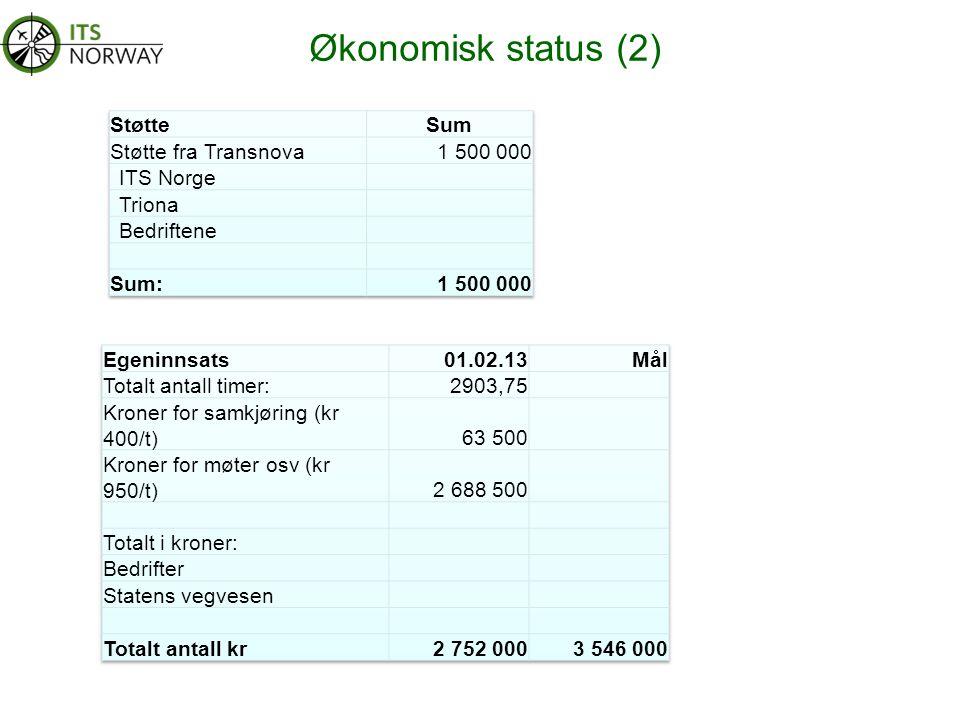 Økonomisk status (2)